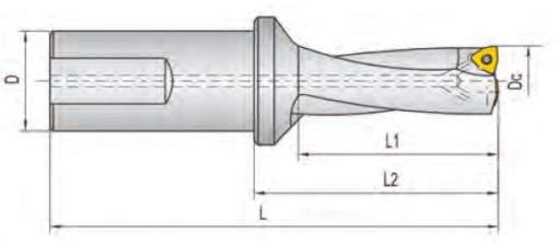 TWX160D20-3 Корпус сверла