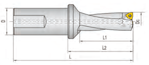 TWX195D25-3 Корпус сверла