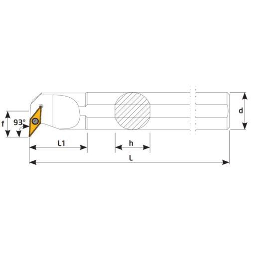 S20R-SVUCR11 Державка токарная