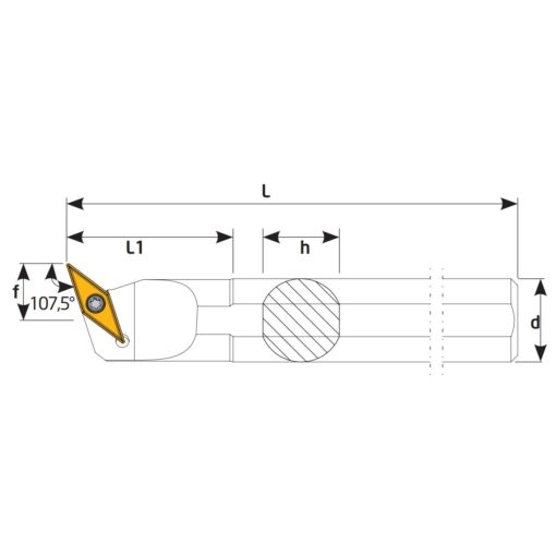 S25S-SVQBL16 Державка токарная