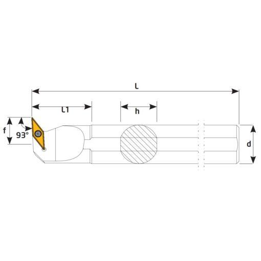 S32S-SVUBL16 Державка токарная