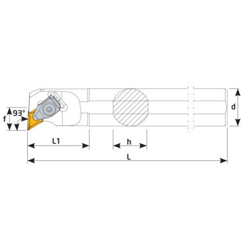 S32T-DDUNR1504 Державка токарная
