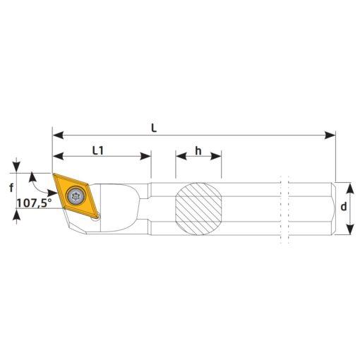 S25S-SDQCL11 Державка токарная