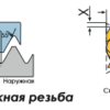 16ER14BSPT BPG20B Пластина тв. сплав CDBP