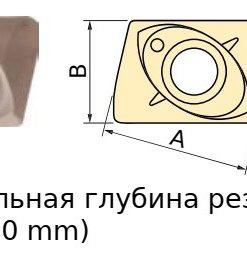 JDMT070208M BPG20B Пластина тв. сплав CDBP